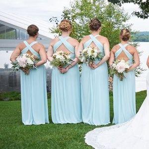 Mint Bridesmaids Dress